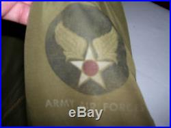 WWII AAF Air Force B-15 Flight Jacket (40)