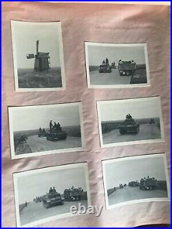 WWII German Photo Albums x 2 850 Superb Photos Multiple Pics of TIGER TANKS