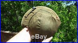 WWII Military USAAF Army Air Force M4A2 Flak Helmet WW2