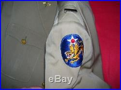 WWII Named 14th Air Force Flying Tigers Pilot's Uniform Group