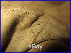 WWII UNITED STATES ARMY AIR FORCE LEATHER HELMENT TYPE A-11 EXTRA LARGE