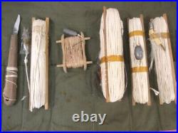 WWII USAAF Army Air Force Bailout Survival Emergency Fishing Kit or Set