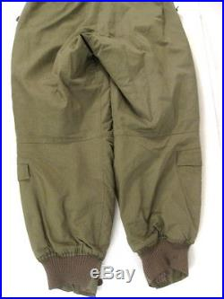 WWII USAAF Army Air Force Type A-11 Flying Trousers withSuspenders Size 30 Xlnt