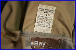 Wwii Us Air Force Flight Surgeon Doctor Summer Jacket Officer's Uniform Ww2 Usaf