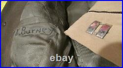 WWII US Army 15th Air Force Pilot Uniform 97th Bomb Group Medal Unit History WIA