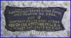 WWII -US Army Air Force- Vintage Leather Pilot Uniform Flight/Bomber Coat/Jacket