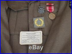 WWII US GI 8th Air Force Ike Uniform Bullion Western Pacific Patch
