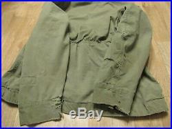 WWII WW2 D2 Parka USAF Mechanics Smock rare 1940s 40s