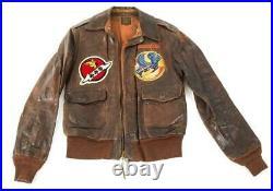 WW 2 A-2 Jacket 82nd & 464th FS 78th & 507th FG 7th & 8th Air Force J D Cornett