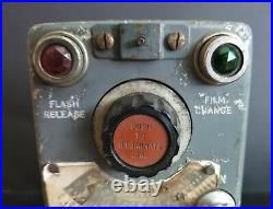 WW-II RAF Bomber Command Lancaster Cockpit Control Switch for Bomb-Bay Camera