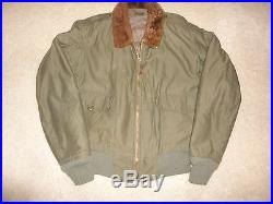 WW II US Army Air Forces Type B-C Jacket Size 40