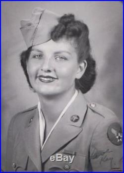 Women's Army Corps WAC WAAC Photo Album War Crimes WWII Air Force