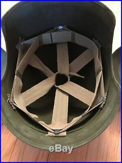 Ww2 M3 Flak Helmet Wwii Bomber Army Air Force