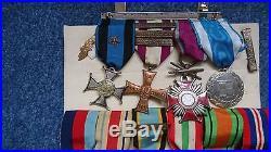 Ww2 Polish Air Force Air Gunner F/sgt Getman Medal Group Poland