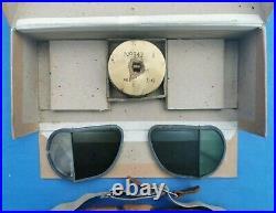 Ww2 RAF MK8 flying goggles boxed