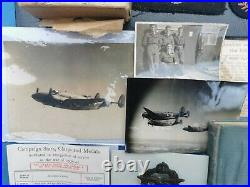 Ww2 RAF/SAAF Sgt A. E Flowers Medal/Logbook Grouping