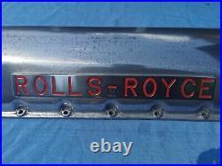 Ww2 RAF Spitfire/Rolls-Royce Merlin Engine Rocker Cover