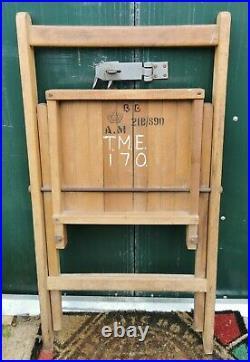 Ww2 RAF station/briefing room folding chair