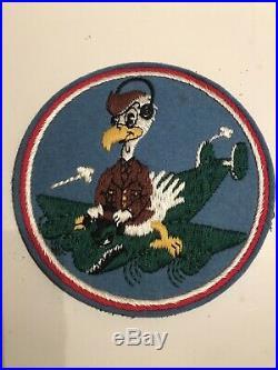 Ww2 Usaaf English Made Felt 701st Bombardment Squadron, 8th Air Force B-24