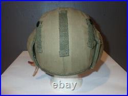 Ww II Usaf Gunner Flak Helmet M4a2